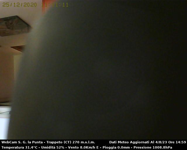 Webcam San Giovanni la Punta - Stazione Meteo S.G. la Punta - Trappeto